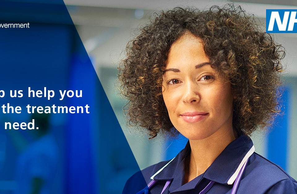 NHS Help us help you get the treatment you need