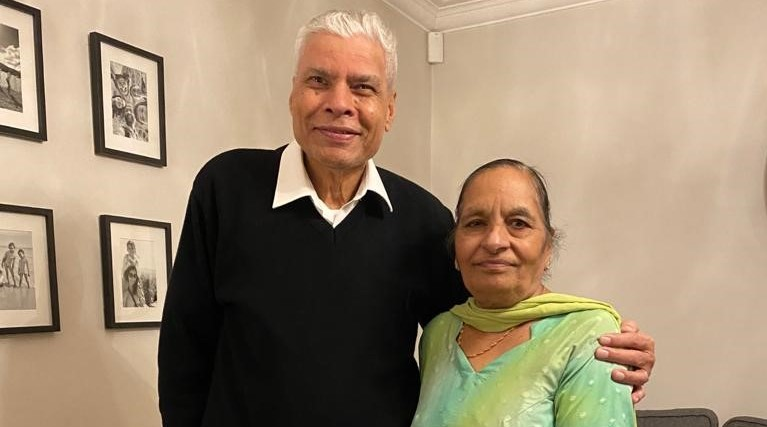 Ranjit and Gian Ghattaora urge people from black, Asian and minority ethnic communities to take up Covid-19 vaccination