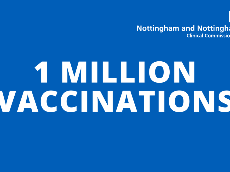 One million vaccinations achieved